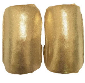 Shinny Gold wrestling kneepads