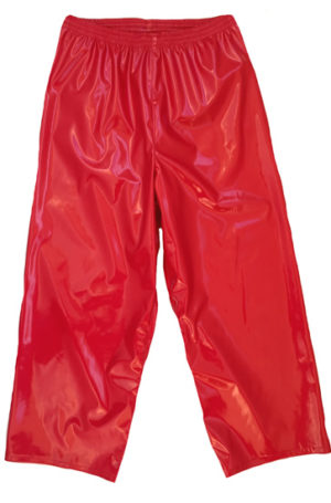 Solid red wrestling wrestling pants