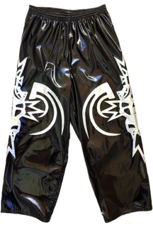 Tribal skull wrestling baggy pants