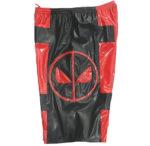 DeadPool red black wrestling shorts
