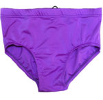 Solid Matte purple wrestling trunks